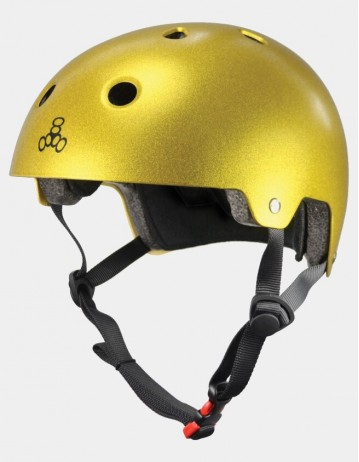 Triple Eight Dual Certified Helmet - Eps Liner Gold. - Product Photo 1