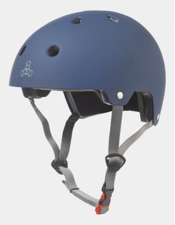 Triple Eight Dual Certified Helmet - Eps Liner Blue. - Product Photo 1