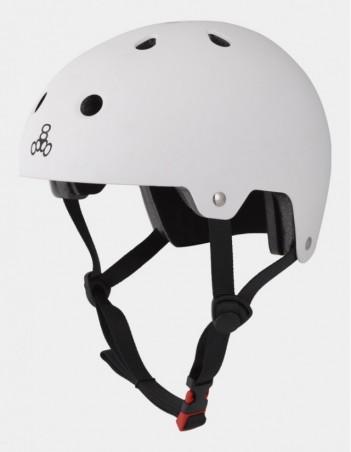 Triple Eight Dual Certified Helmet - EPS Liner White. - Safety Helmet - Miniature Photo 3