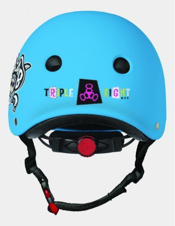 Triple Eight Lil 8 Staab Edition Dual Certified Helmet With Eps Liner - Neon Blue. - Product Photo 2