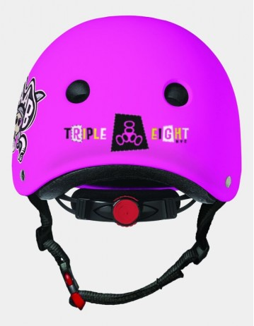 Triple Eight Lil 8 Staab Edition Dual Certified Helmet With Eps Liner - Neon Pink. - Product Photo 2