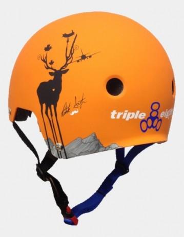 Triple Eight Brainsaver Helmet - Patrick Switzer Pro Model - Eps Liner. - Product Photo 2