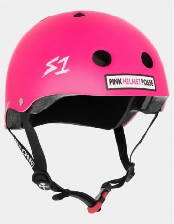 S-One v2 The Mini (The Kid) Lifer Helmet - Pink Posse. - Product Photo 1