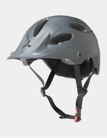Triple Eight Compass Bike Helmet Grey. - Product Photo 1