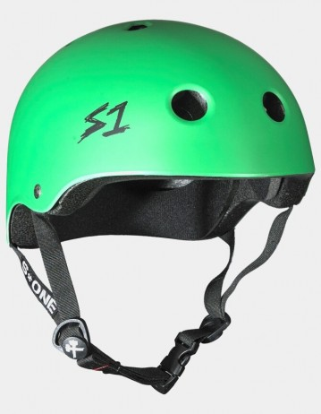 S-One v2 Lifer Cpsc Certified Helmet - Kelly Green. - Product Photo 1