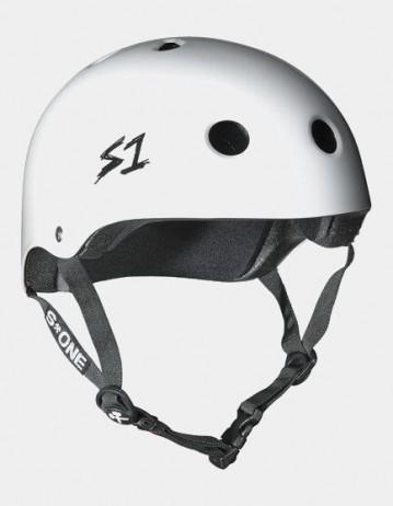 S-One v2 Lifer Cpsc Certified Helmet - White Gloss. - Product Photo 1