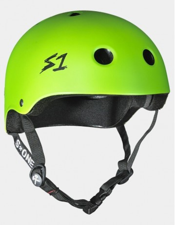 S-One v2 Lifer Cpsc Certified Helmet - Bright Green. - Product Photo 1