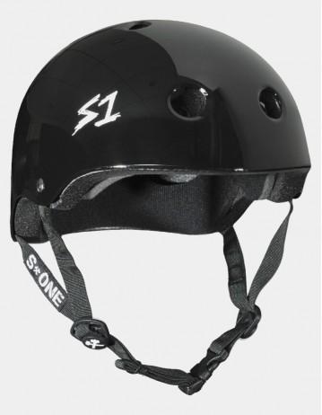 S-One v2 Lifer Cpsc Certified Helmet - Black Glossy. - Product Photo 1