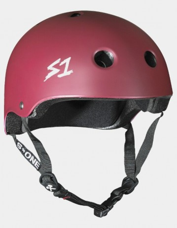 S-One v2 Lifer Cpsc Certified Helmet - Maroon. - Product Photo 1