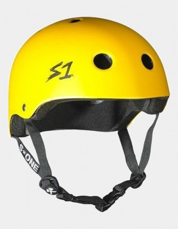 S-One v2 Lifer Cpsc Certified Helmet - Yellow Matte. - Product Photo 1