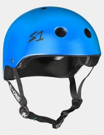 S-One V2 Lifer CPSC Certified Helmet - Cyan Matte. - Safety Helmet - Miniature Photo 1
