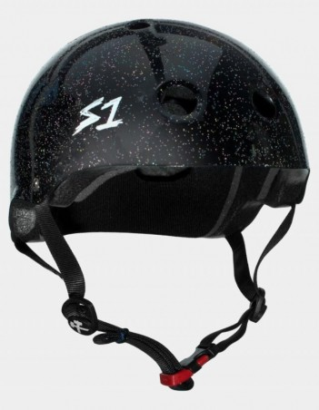 S-One Mini Lifer (the Kid) Gloss Glitter Black. - Safety Helmet - Miniature Photo 1