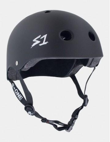 S-One v2 Mega Lifer Helmet - Black Matte. - Product Photo 1