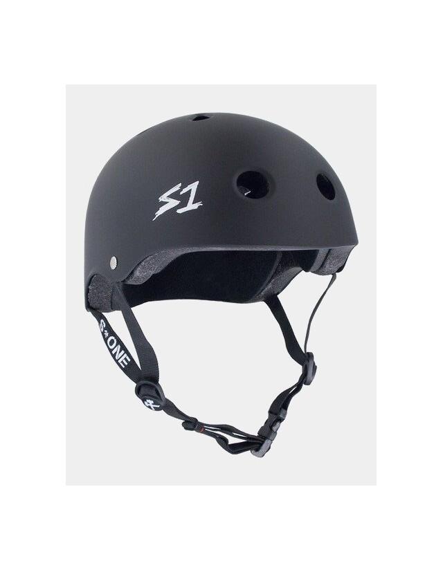 S-One v2 Mega Lifer Helmet - Black Matte. - Safety Helmet  - Cover Photo 1