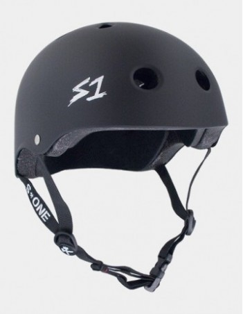 S-One V2 Mega Lifer Helmet - Black Matte. - Safety Helmet - Miniature Photo 1