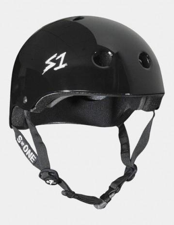 S-One v2 Mega Lifer Helmet - Black Glossy. - Product Photo 1