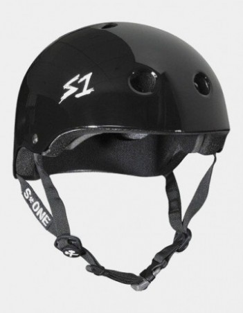S-One V2 Mega Lifer Helmet - black glossy. - Safety Helmet - Miniature Photo 1