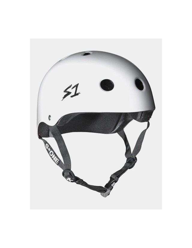 S-One v2 Mega Lifer Helmet - White. - Safety Helmet  - Cover Photo 1