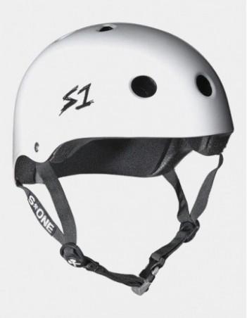 S-One V2 Mega Lifer Helmet - White. - Safety Helmet - Miniature Photo 1