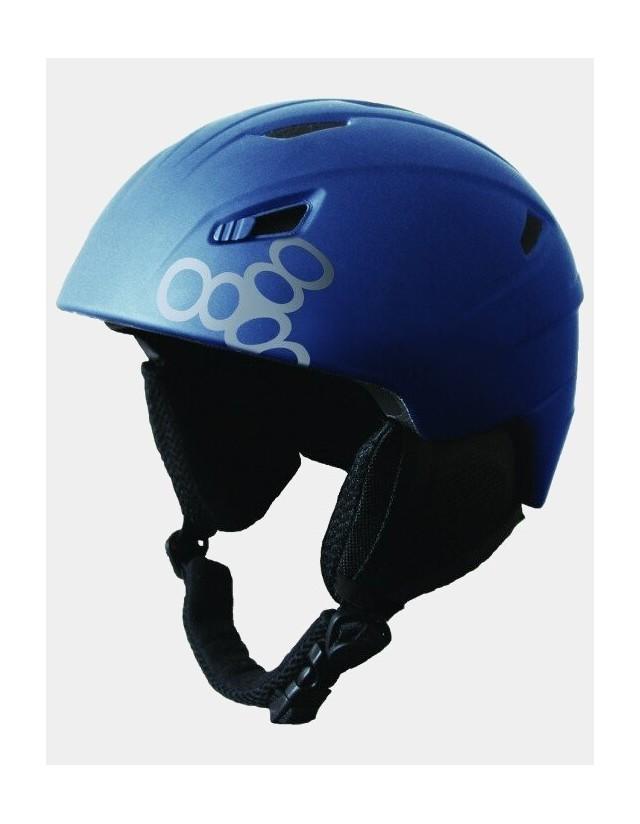 Triple Eight Big Chill Snowboard Helmet - Blue. - Safety Helmet  - Cover Photo 1