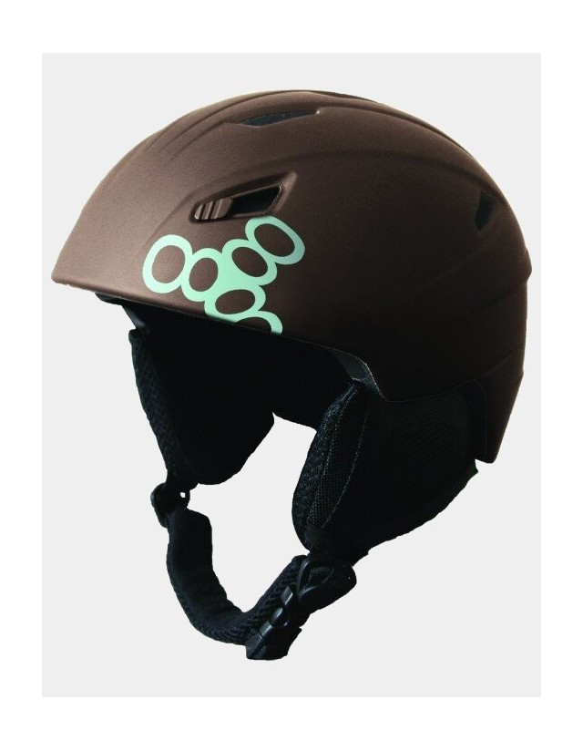 Triple Eight Big Chill Snowboard Helmet - Brown. - Safety Helmet  - Cover Photo 1