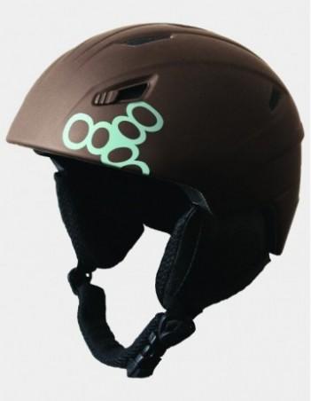 Triple Eight Big Chill Snowboard Helmet - Brown. - Safety Helmet - Miniature Photo 1