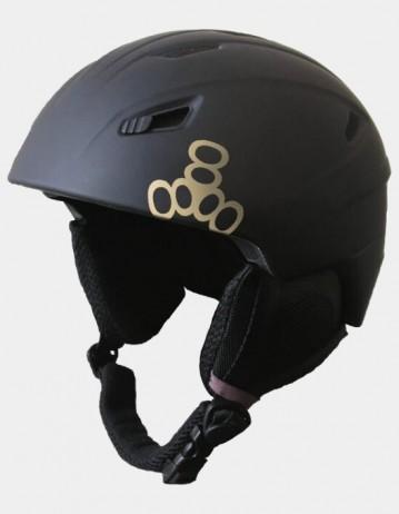 Triple Eight Big Chill Snowboard Helmet - Black. - Product Photo 1