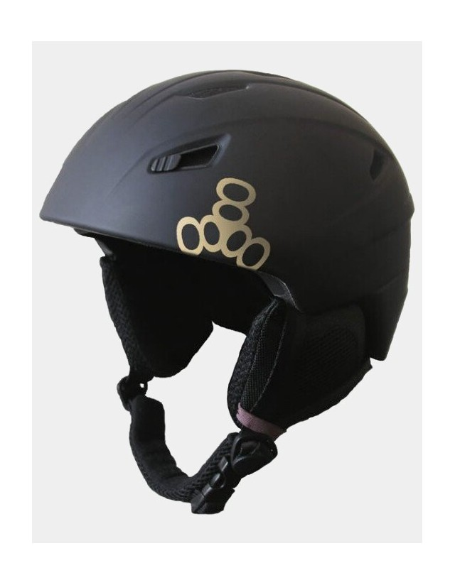 Triple Eight Big Chill Snowboard Helmet - Black. - Safety Helmet  - Cover Photo 1