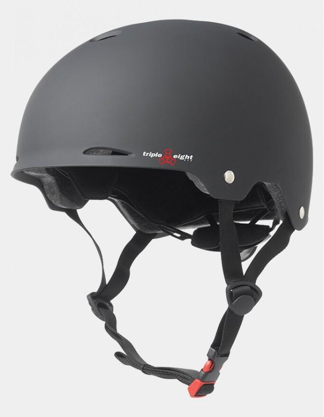 Triple Eight Gotham Helmet - Eps Liner Black. - Safety Helmet  - Cover Photo 3