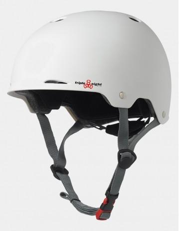 Triple Eight Gotham Helmet - Eps Liner White. - Product Photo 1
