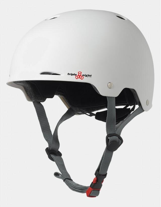 Triple Eight Gotham Helmet - Eps Liner White. - Safety Helmet  - Cover Photo 3