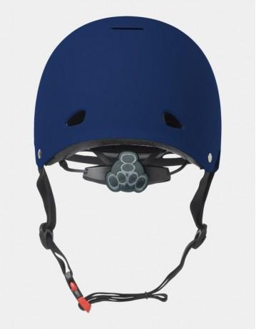 Triple Eight Gotham Helmet - Eps Liner Blue. - Product Photo 2