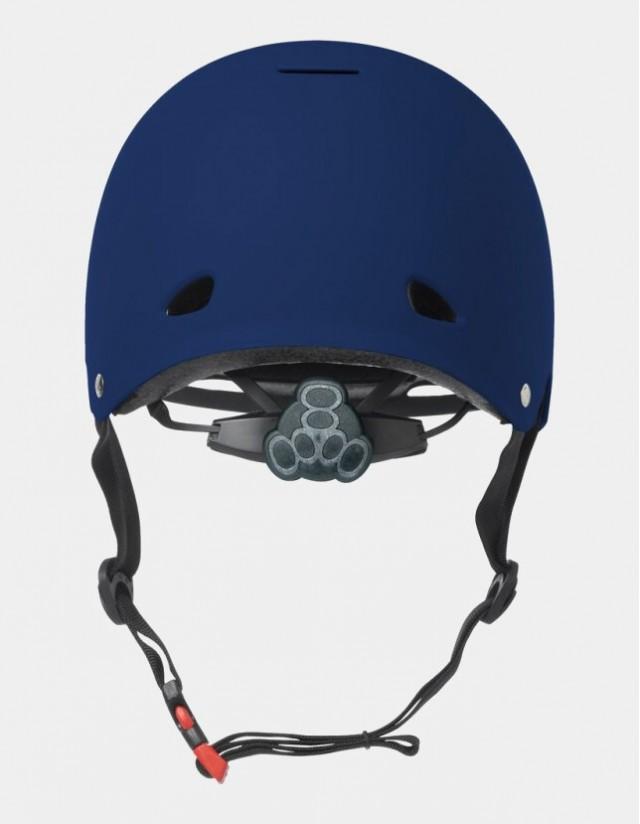 Triple Eight Gotham Helmet - Eps Liner Blue. - Safety Helmet  - Cover Photo 2
