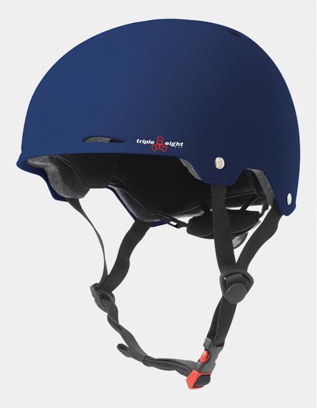 Triple Eight Gotham Helmet - Eps Liner Blue. - Safety Helmet  - Cover Photo 3