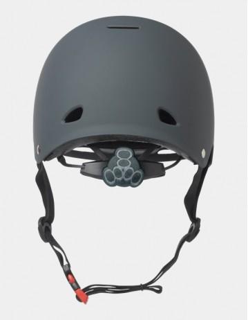 Triple Eight Gotham Helmet - Eps Liner Grey. - Product Photo 2
