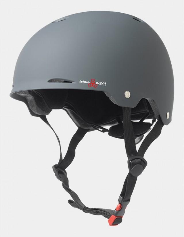 Triple Eight Gotham Helmet - Eps Liner Grey. - Safety Helmet  - Cover Photo 3