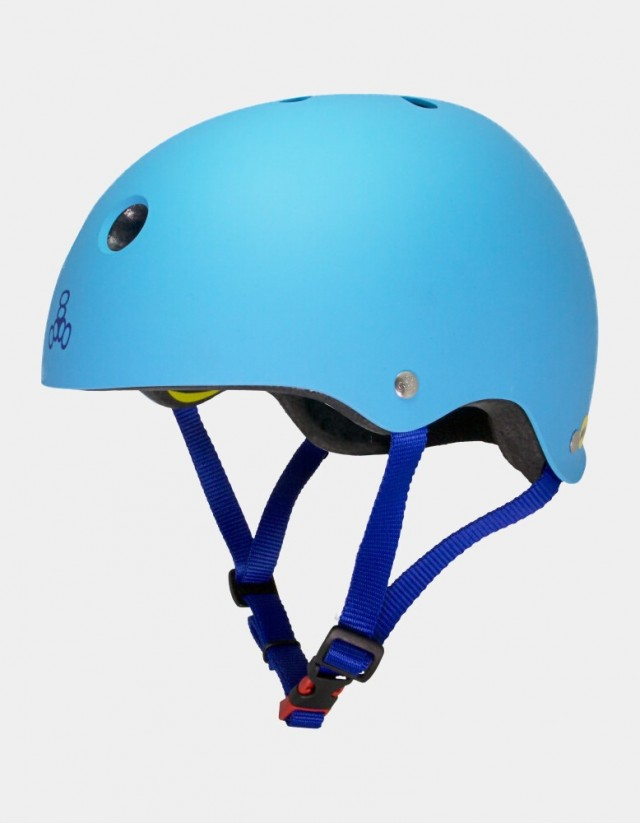 Triple Eight Brainsaver Ii Helmet With Mips - Blue. - Safety Helmet  - Cover Photo 1