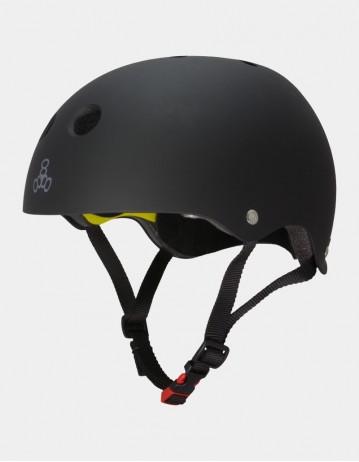 Triple Eight Brainsaver Ii Helmet With Mips - Black. - Product Photo 1