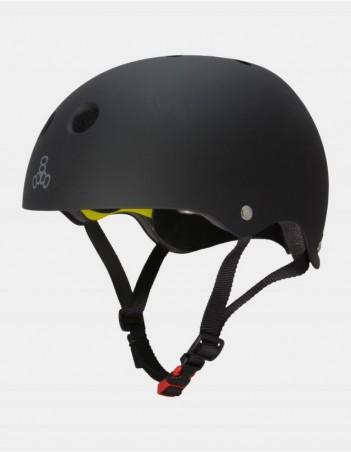 Triple Eight Brainsaver II Helmet with MIPS - Black. - Safety Helmet - Miniature Photo 1