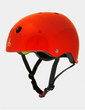 Triple Eight Brainsaver Ii Helmet With Mips - Red. - Product Photo 1