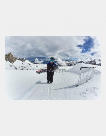 Triple Eight Audio Snow Helmet with Halo Liner. - Safety Helmet - Miniature Photo 1