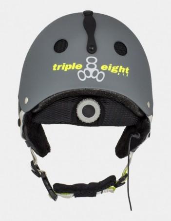 Triple Eight Audio Snow Helmet with Halo Liner. - Safety Helmet - Miniature Photo 2