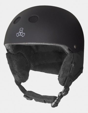 Triple Eight Audio Snow Helmet With Halo Liner. - Product Photo 1