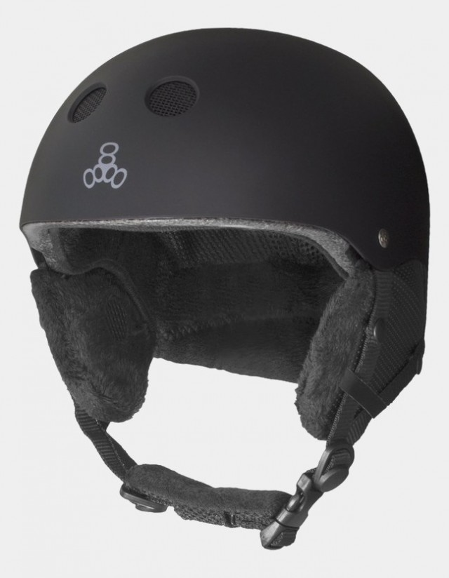Triple Eight Audio Snow Helmet With Halo Liner. - Safety Helmet  - Cover Photo 3