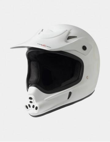 Triple Eight Invader Full Face Helmet White. - Product Photo 1