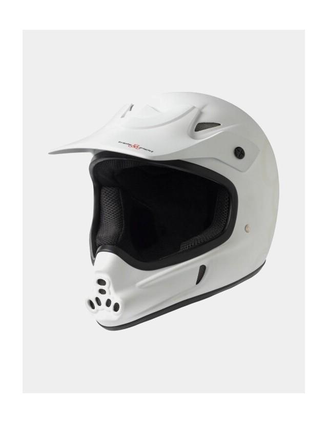Triple Eight Invader Full Face Helmet White. - Safety Helmet  - Cover Photo 1