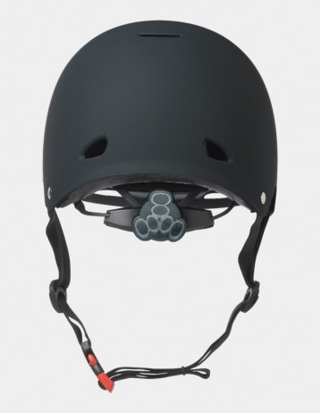 Triple Eight Gotham Helmet With Mips - Black Matte. - Product Photo 2