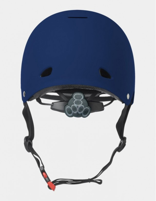 Triple Eight Gotham Helmet With Mips - Blue Matte. - Safety Helmet  - Cover Photo 2