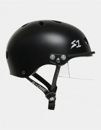 S-One Lifer Visor Helmet Black Matte. - Safety Helmet - Miniature Photo 1
