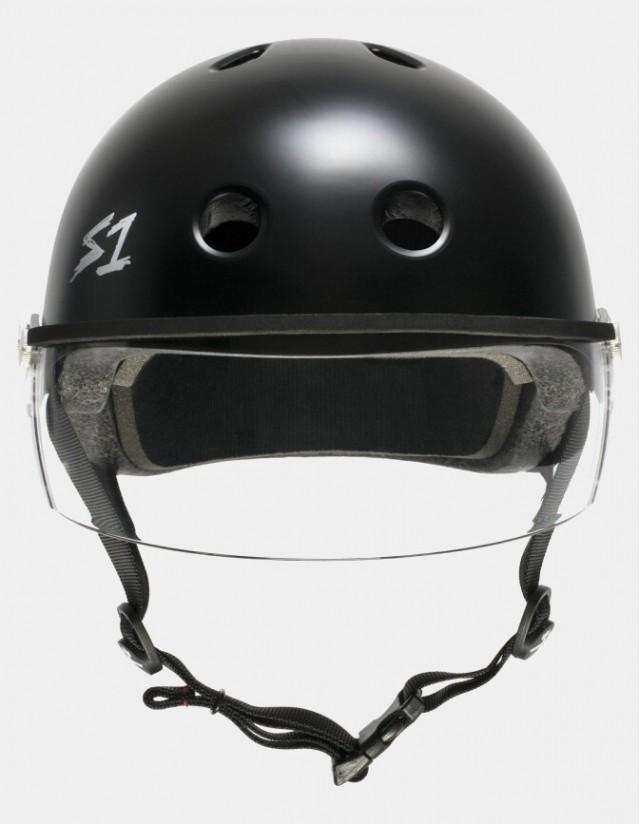 S-One Lifer Visor Helmet Black Matte. - Safety Helmet  - Cover Photo 2